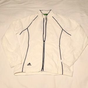 Adidas Climaproof Zip Up Track Jacket /Windbreaker